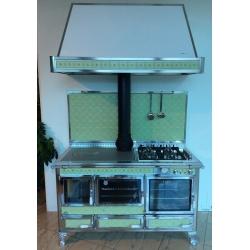 Cuisinière Mixte Wekos 360 LGE inox