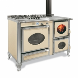 Cuisinière Mixte Wekos 135 LGE / SF Inox  Arnica SX