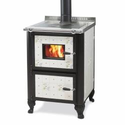 Cuisinière à bois Wekos 601 con forno ristica serenella