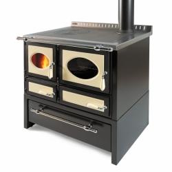 Cuisinière à bois Wekos 80 L / CIS Rustica con cassettone