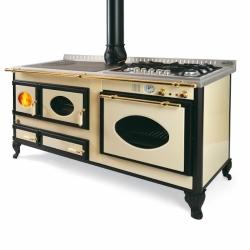 Cuisinière à bois Bouilleur mixte wekos 165 LGE / SF Rustica santoreggia