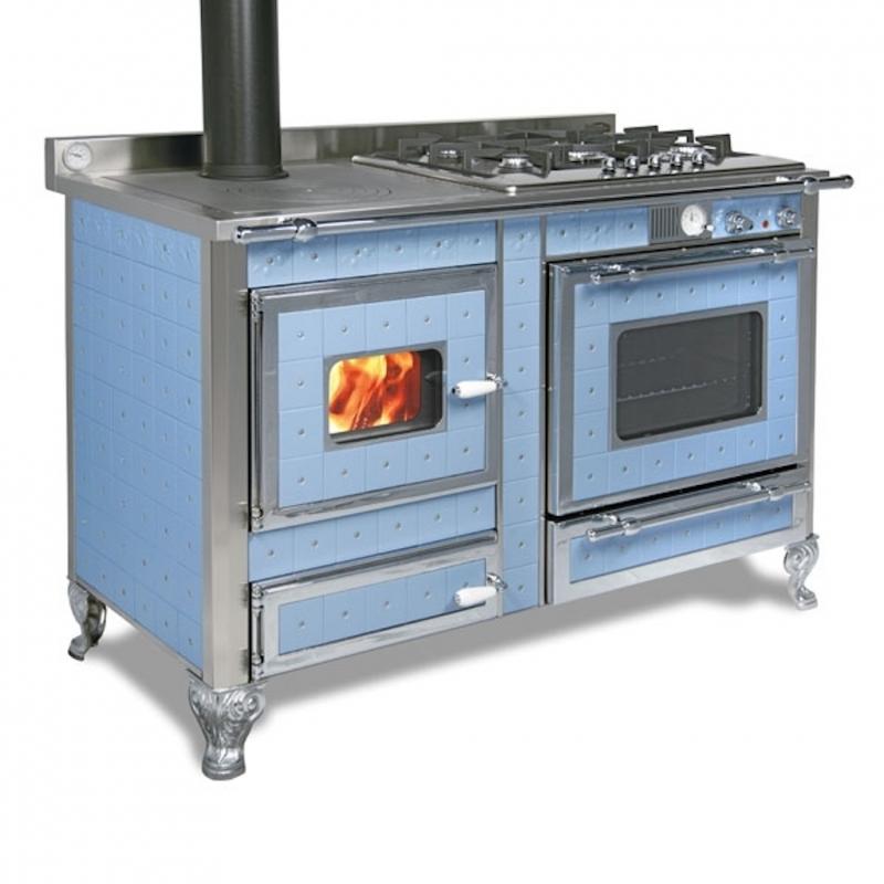 cuisini re bois bouilleur mixte wekos 120 lge sf inox. Black Bedroom Furniture Sets. Home Design Ideas