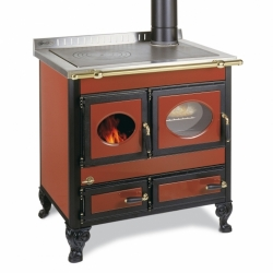 cuisinière à bois  bouilleur wekos Amica Rustica