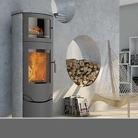po le bois scandinave lotus prio 7 m avec four sur po le. Black Bedroom Furniture Sets. Home Design Ideas
