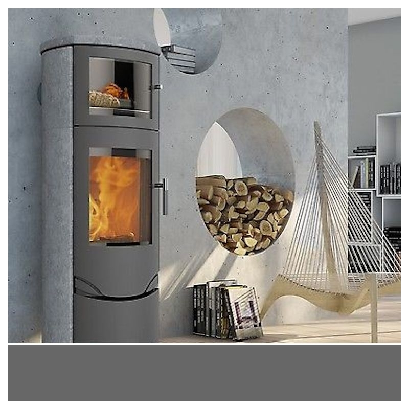 po le bois scandinave lotus prio 7 m avec four sur po le et ambiance. Black Bedroom Furniture Sets. Home Design Ideas